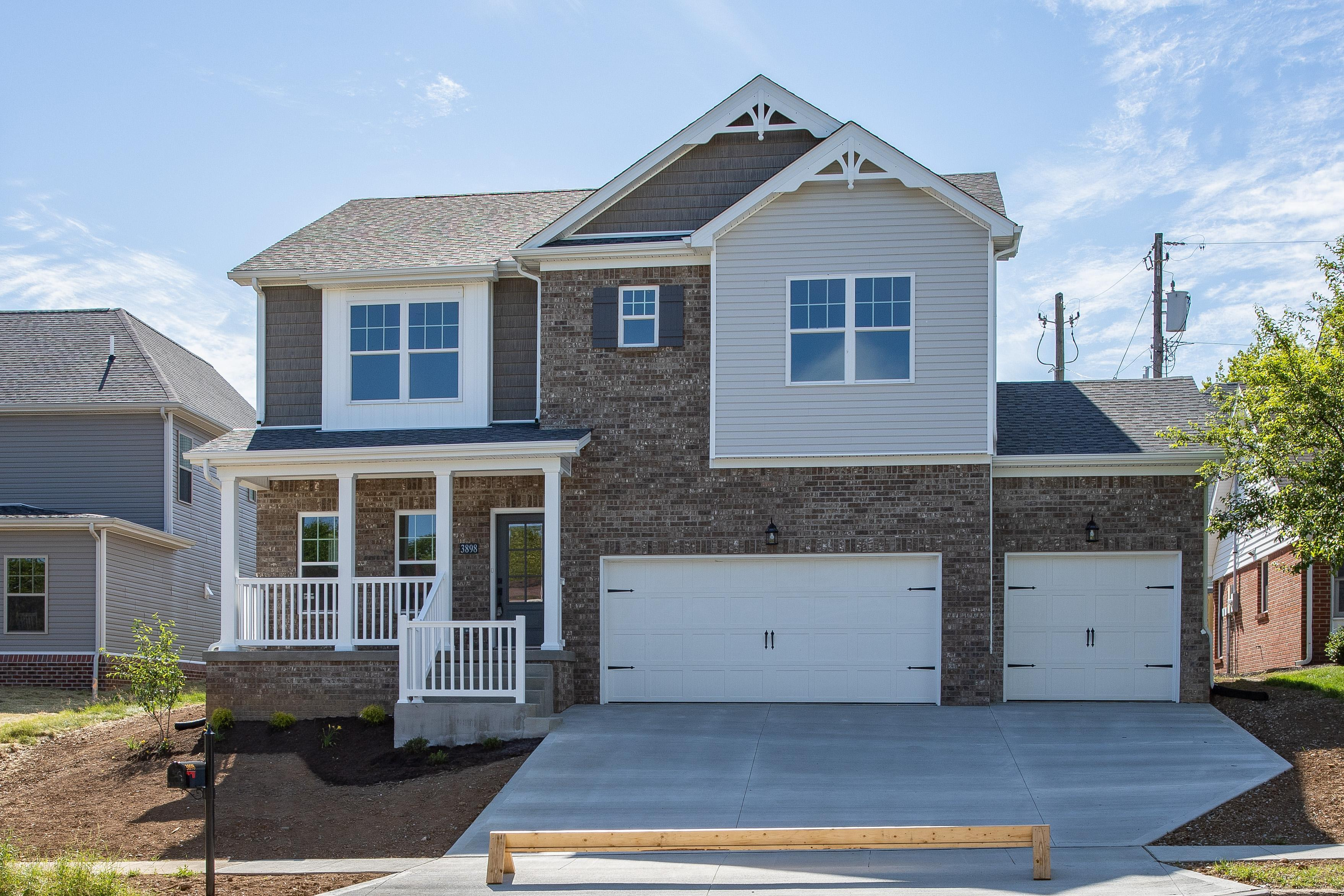 Exterior featured in the XThe Nancy - 3rd Car By James Monroe Homes in Lexington, KY