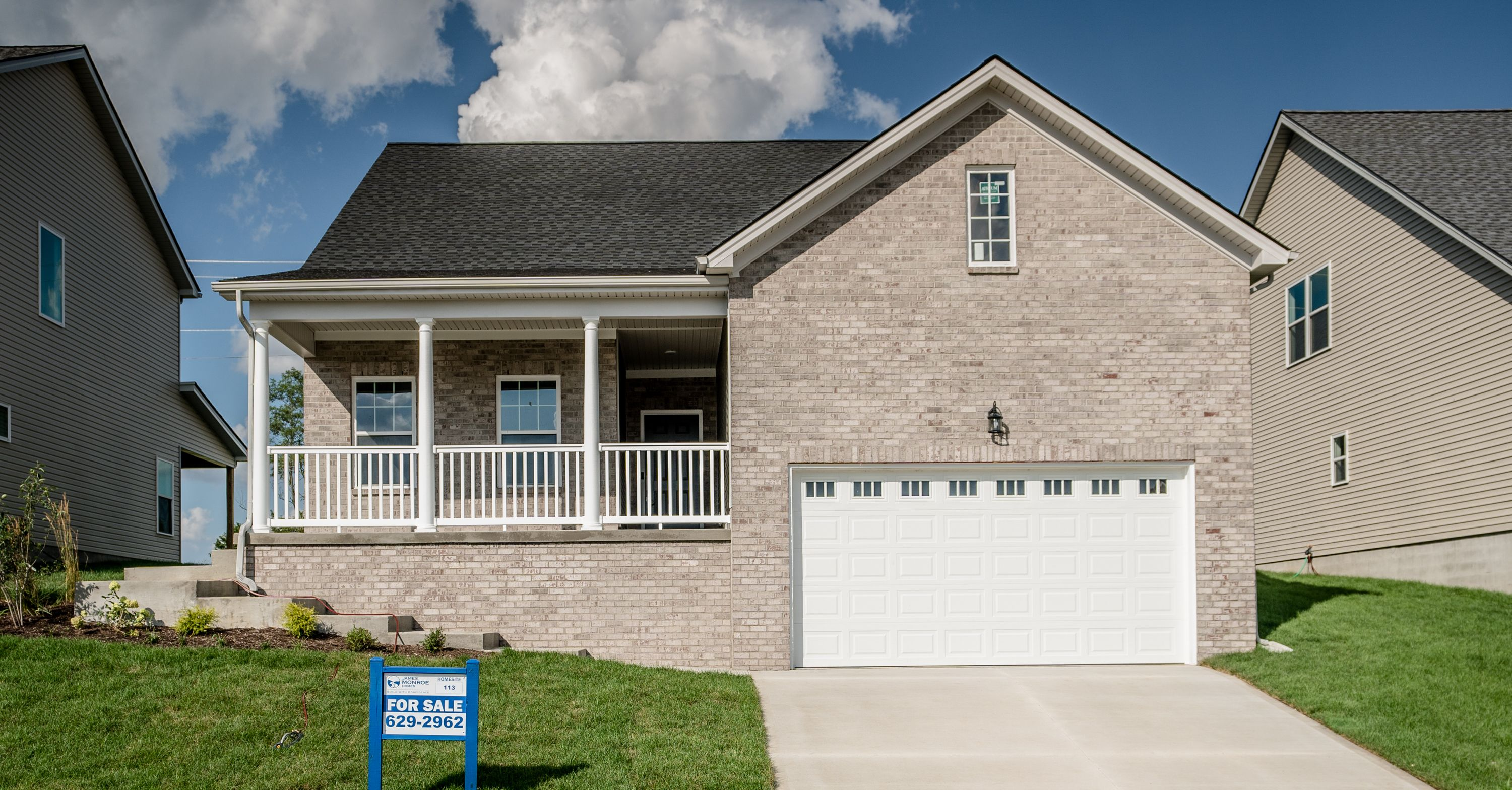 Exterior featured in The Martha By James Monroe Homes in Lexington, KY