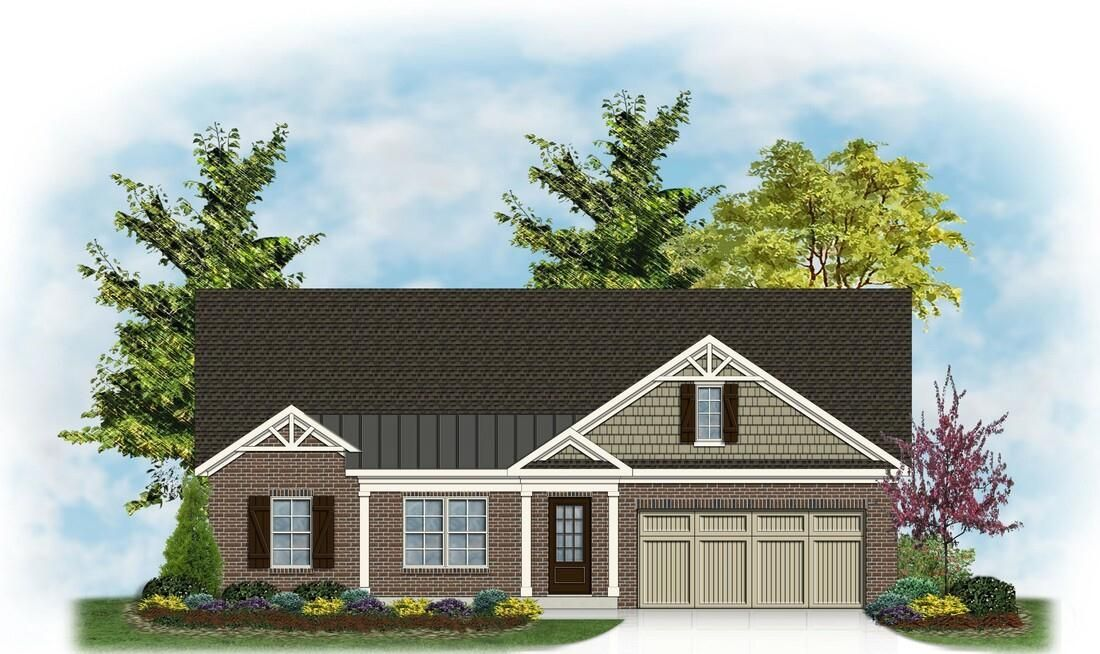 Exterior featured in The Barbara By James Monroe Homes in Lexington, KY