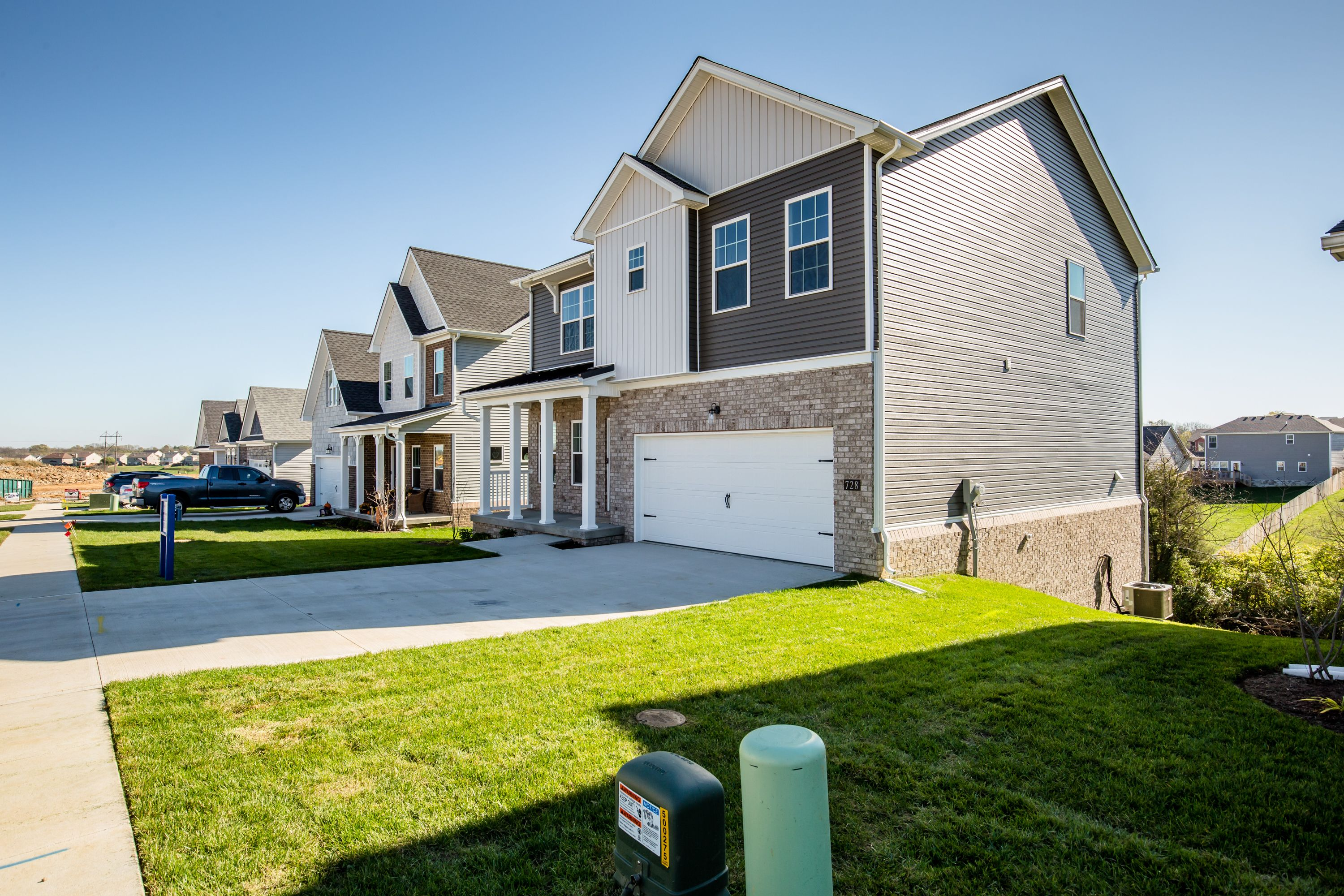 Exterior featured in The Nancy By James Monroe Homes in Lexington, KY