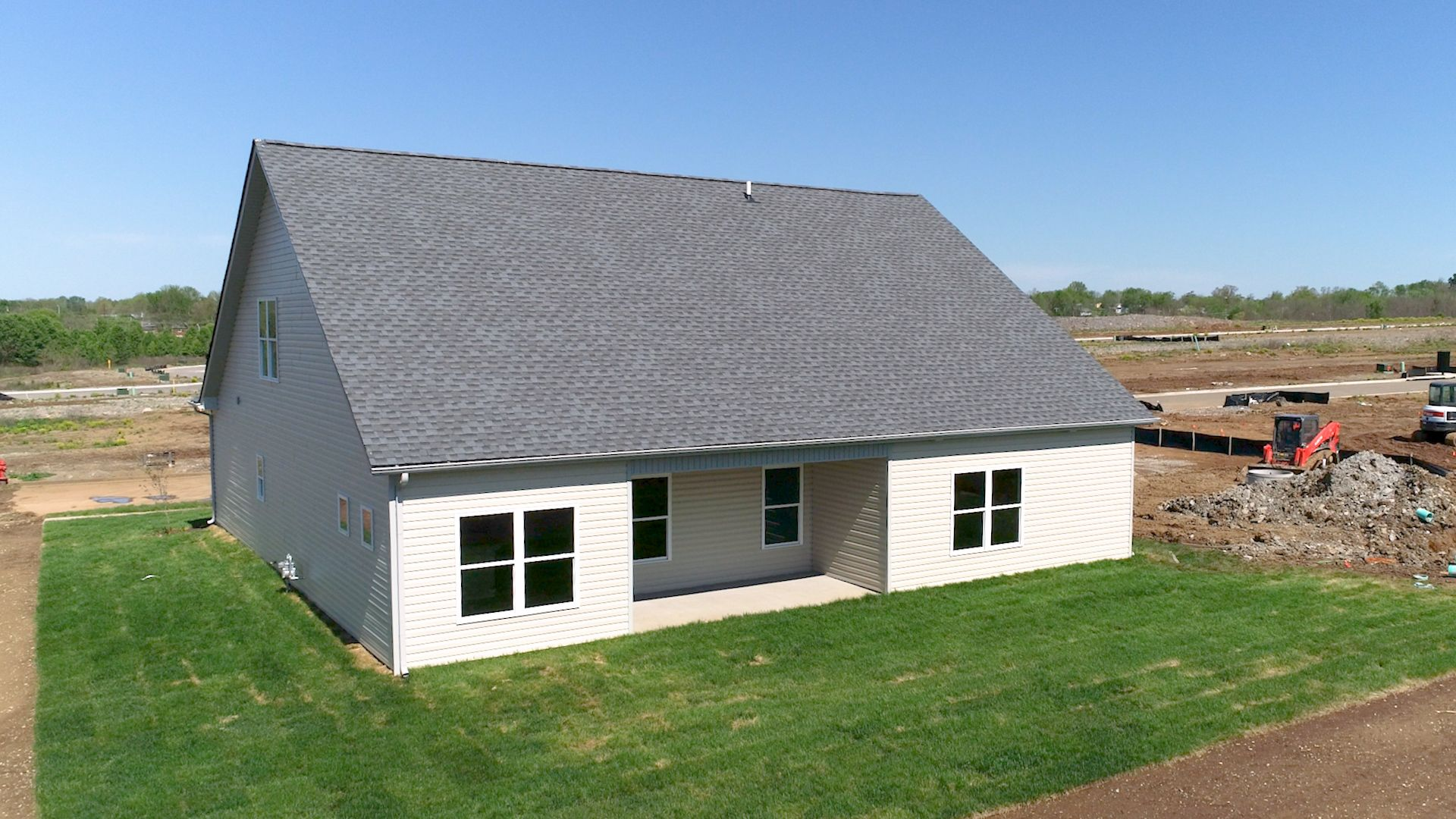 Exterior featured in The Barbara - 3rd Car By James Monroe Homes in Lexington, KY