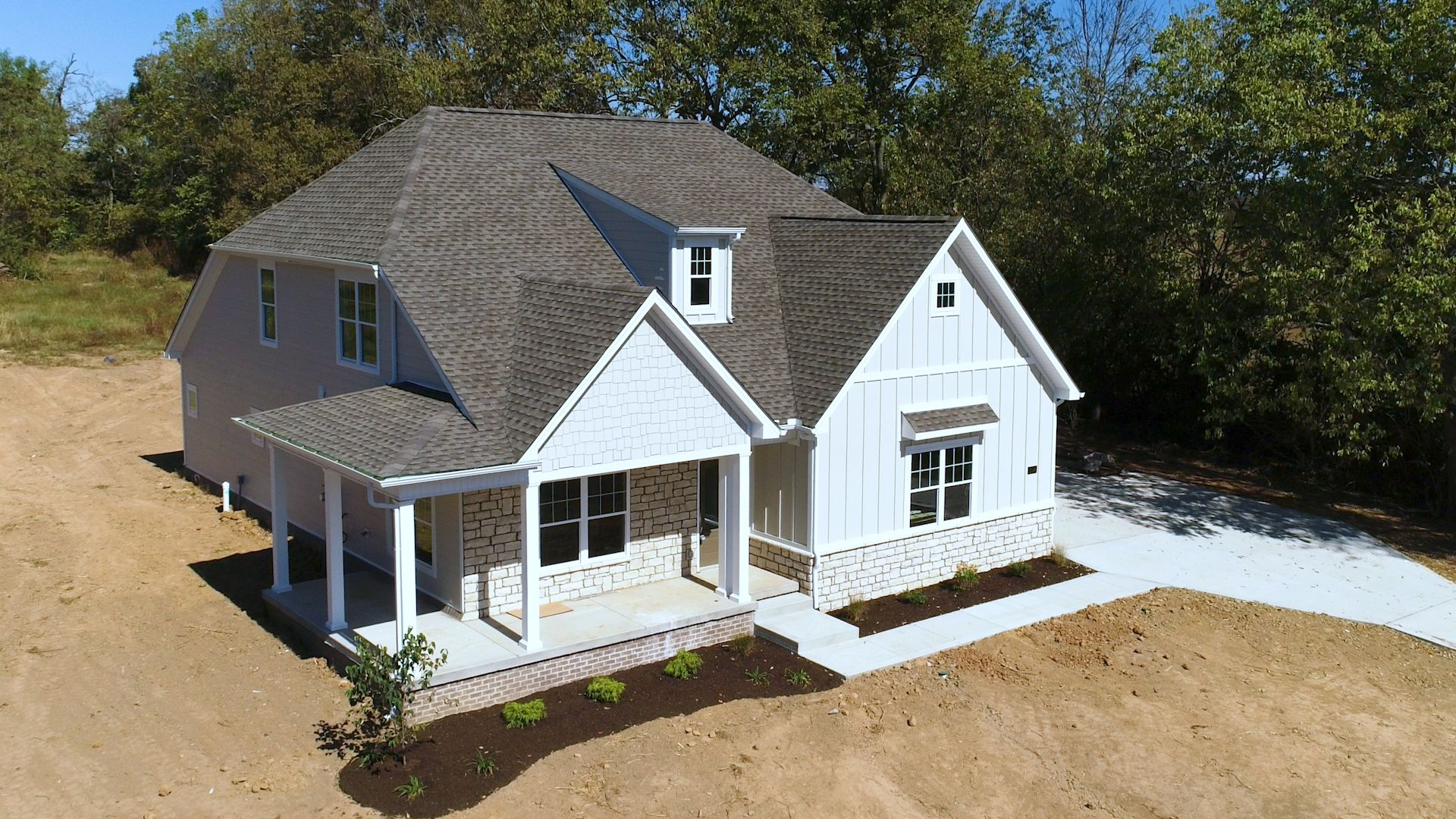 Exterior featured in The Eleanor - 3rd Car By James Monroe Homes in Lexington, KY