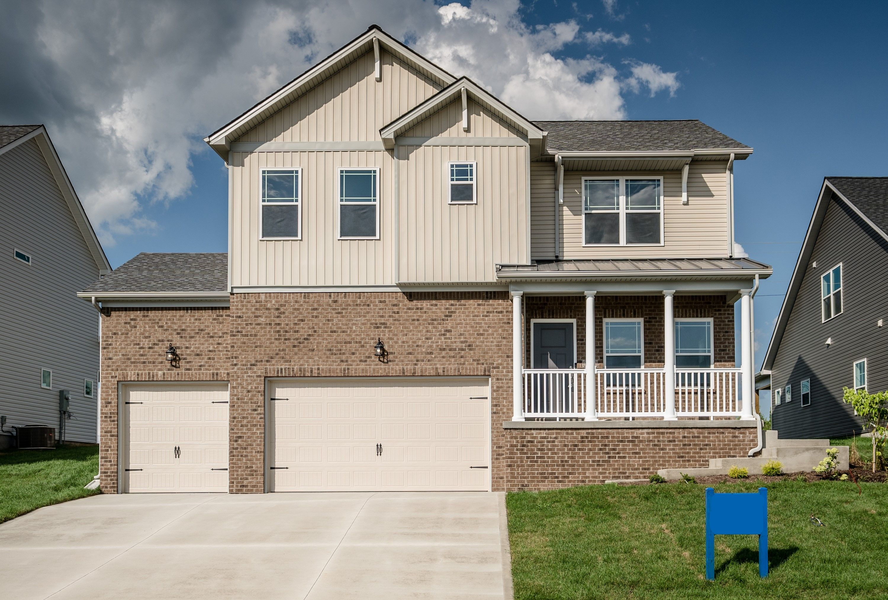 Exterior featured in The Jackie - 3rd Car By James Monroe Homes in Lexington, KY