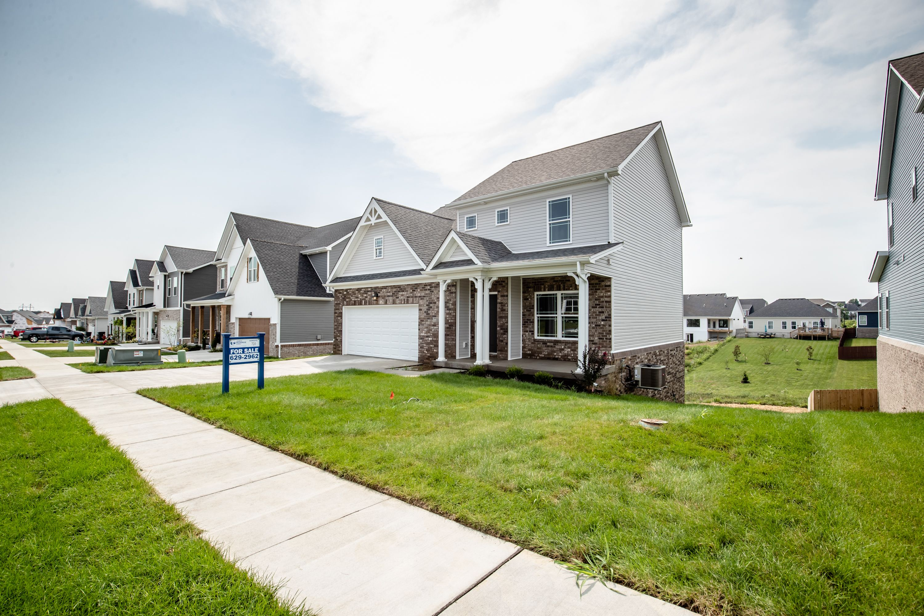 Exterior featured in The Grace By James Monroe Homes in Lexington, KY