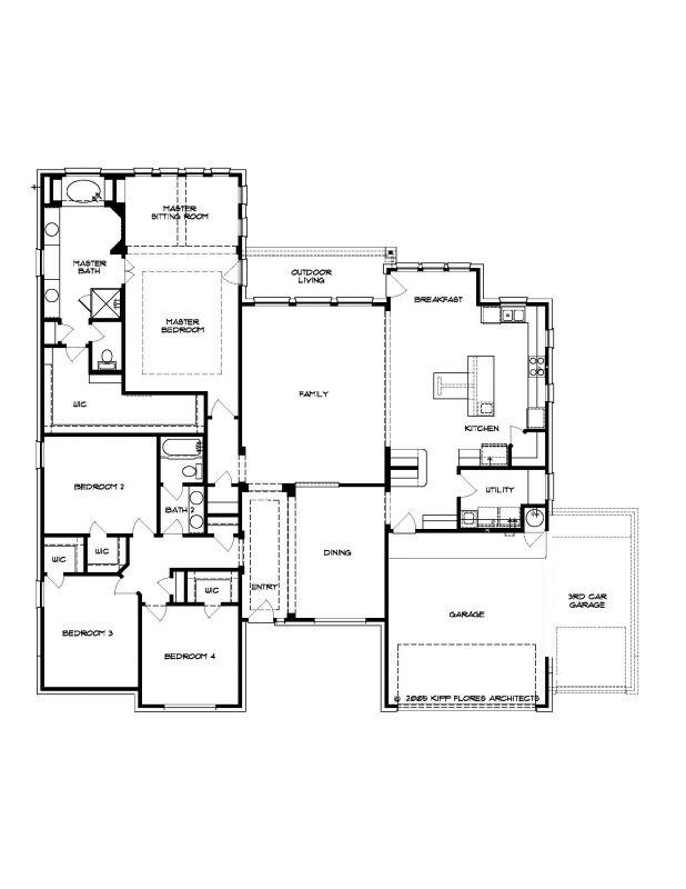The Sevilla :Floor Plan