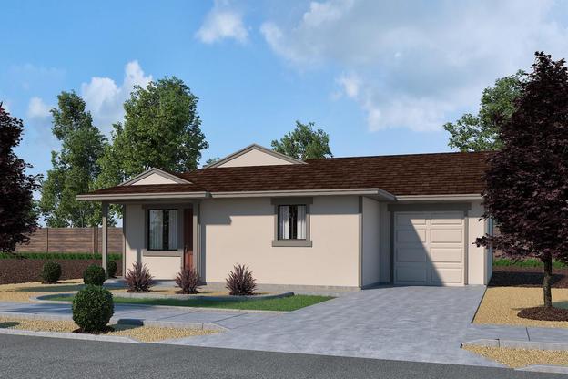 4C- Garage- Elevation :Plan 4