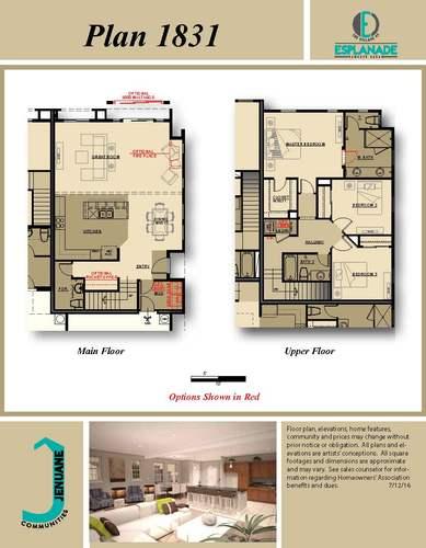 Plan 1831 Floor Plan