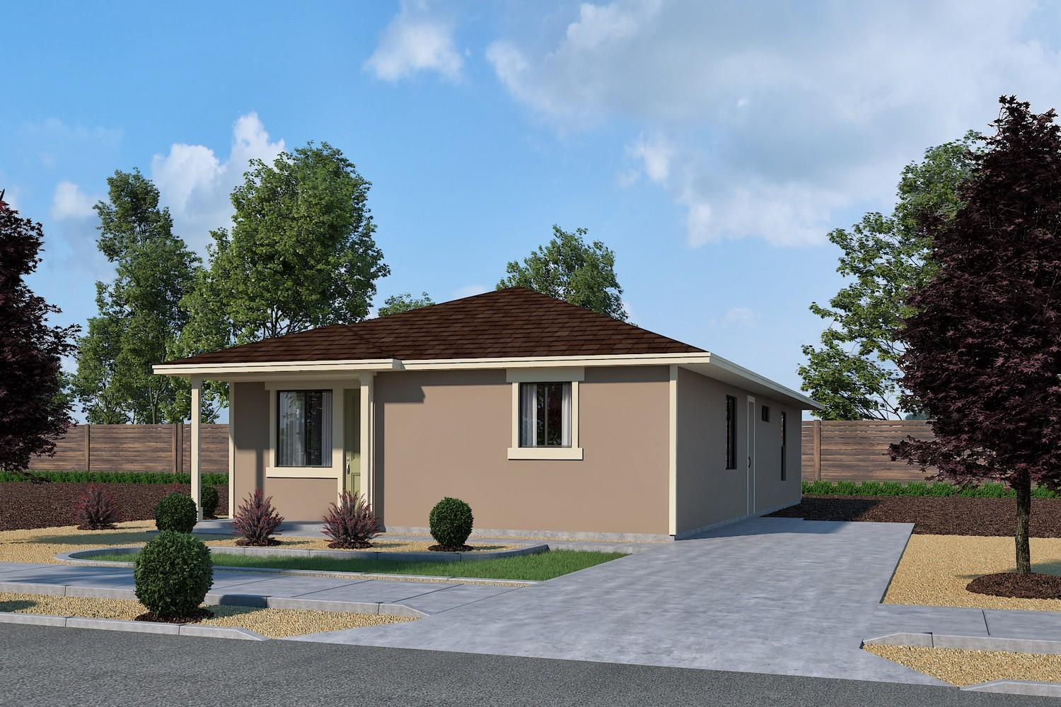 Exterior featured in the Plan 4 By Jenuane Communities in Reno, NV