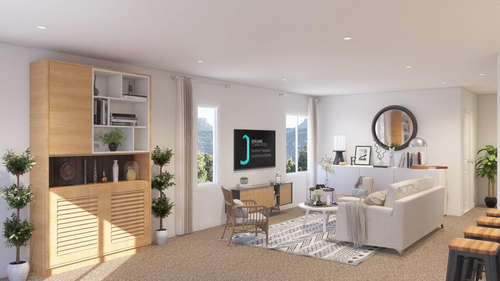 Living Area featured in the Plan 1 By Jenuane Communities in Reno, NV