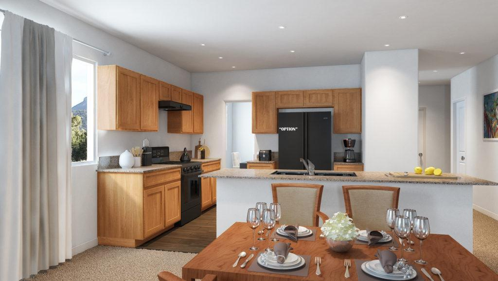 Kitchen featured in the Plan 6 By Jenuane Communities in Reno, NV