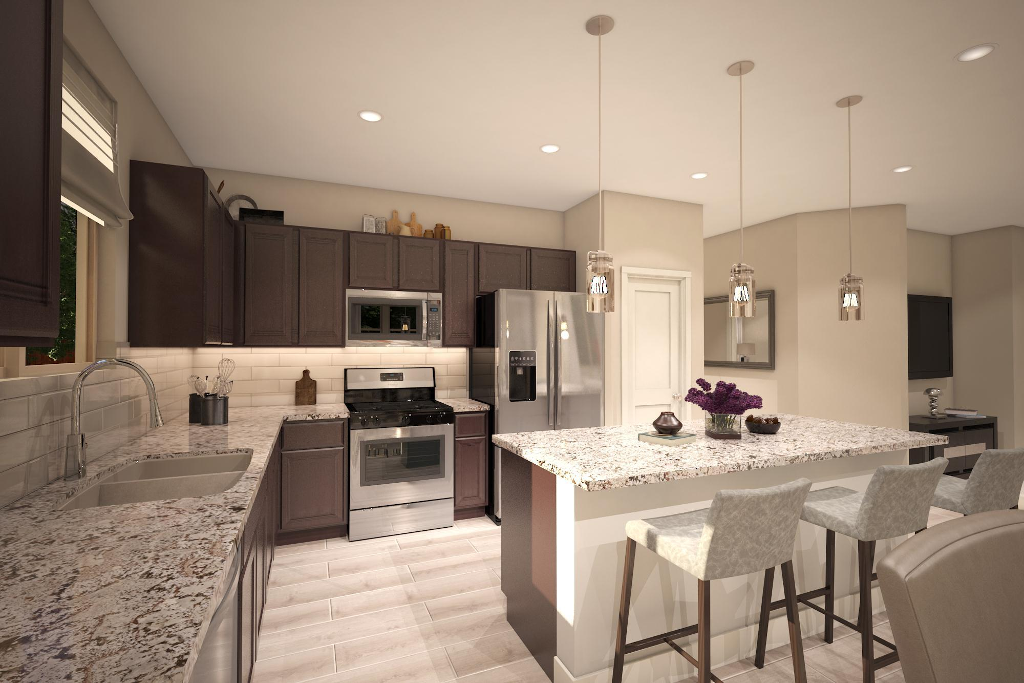 Kitchen featured in the Plan 2- 1574 By Jenuane Communities in Reno, NV