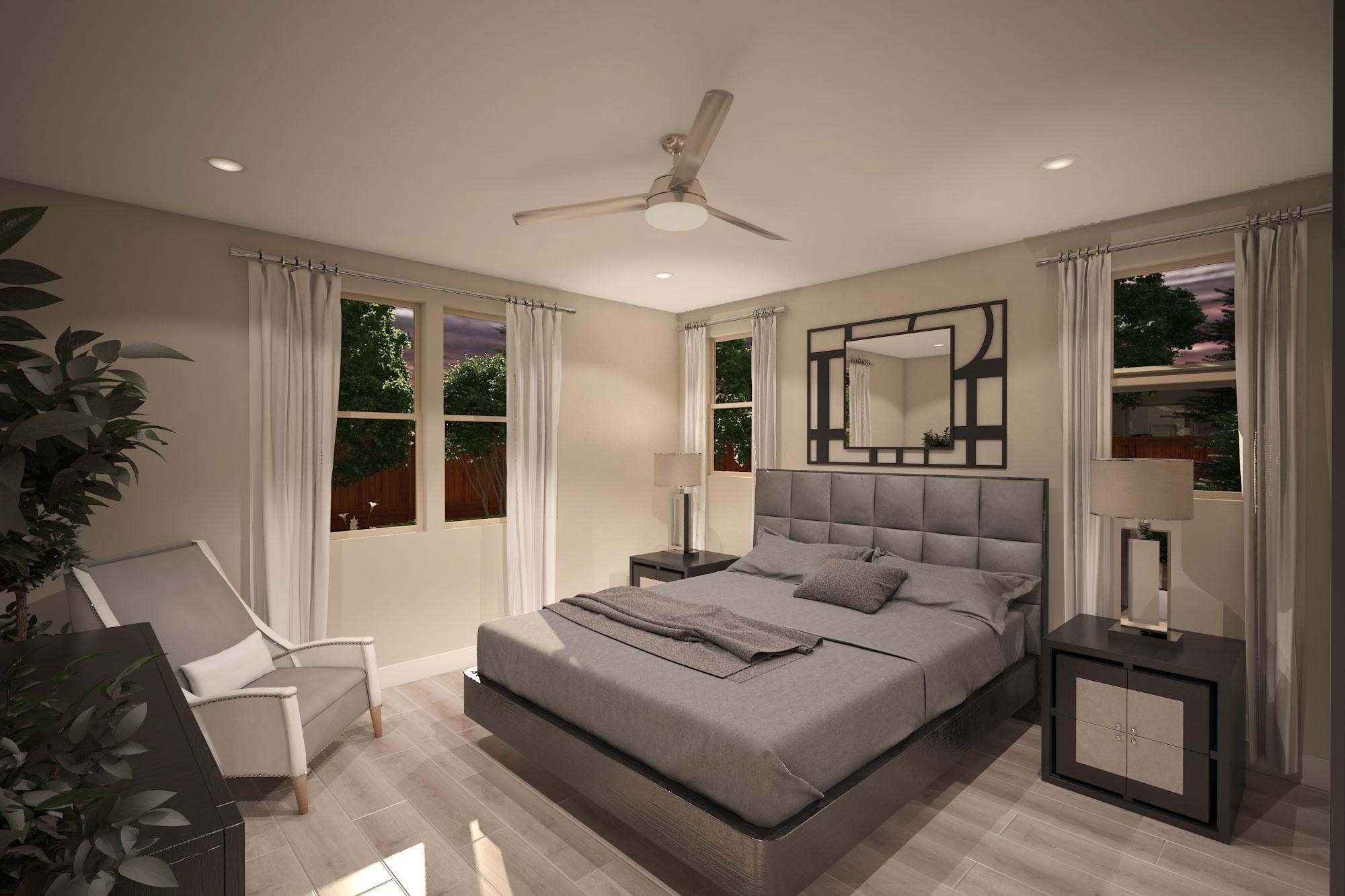 Bedroom featured in the Plan 2- 1574 By Jenuane Communities in Reno, NV