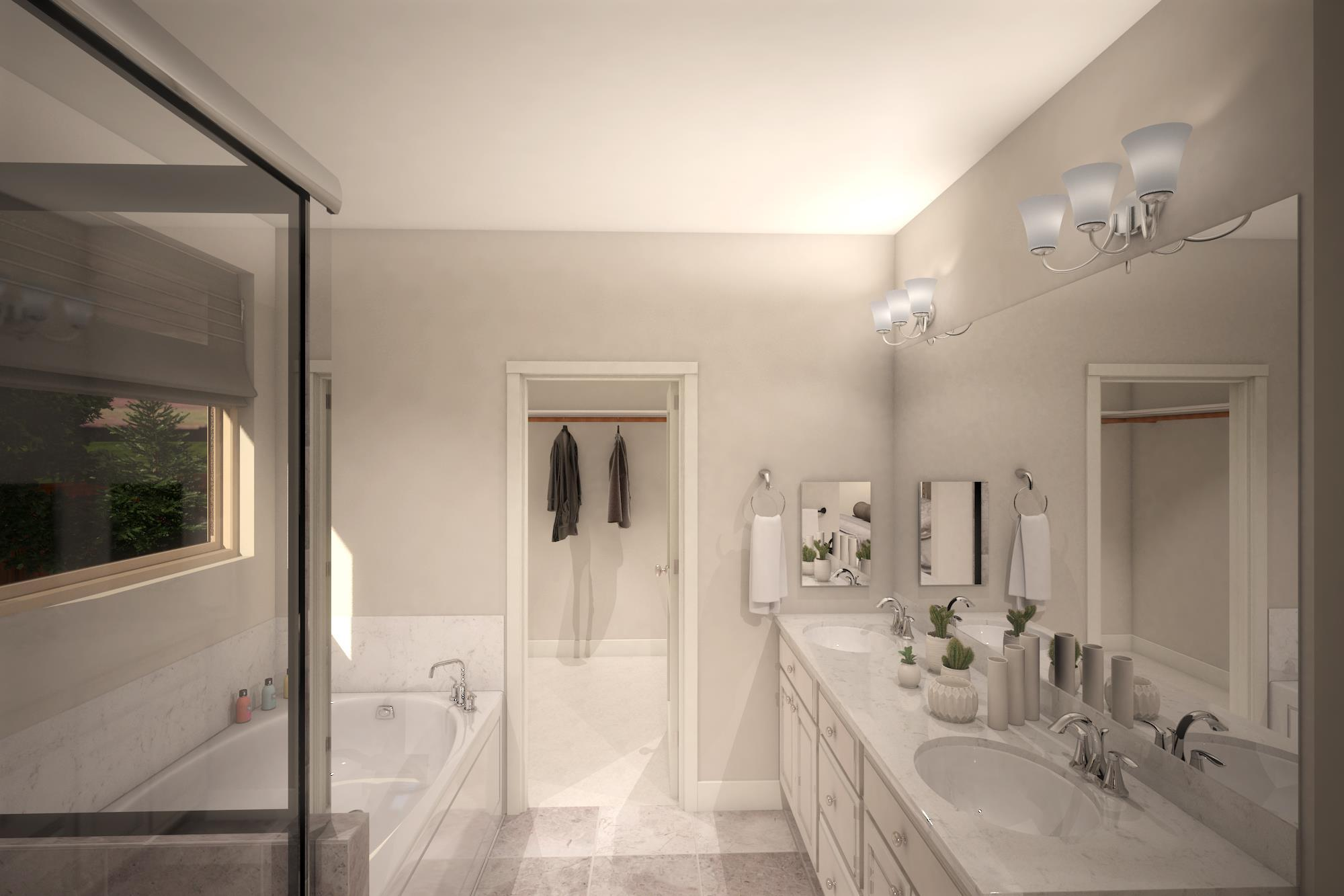 Bathroom featured in the Plan 3- 1739 By Jenuane Communities in Reno, NV