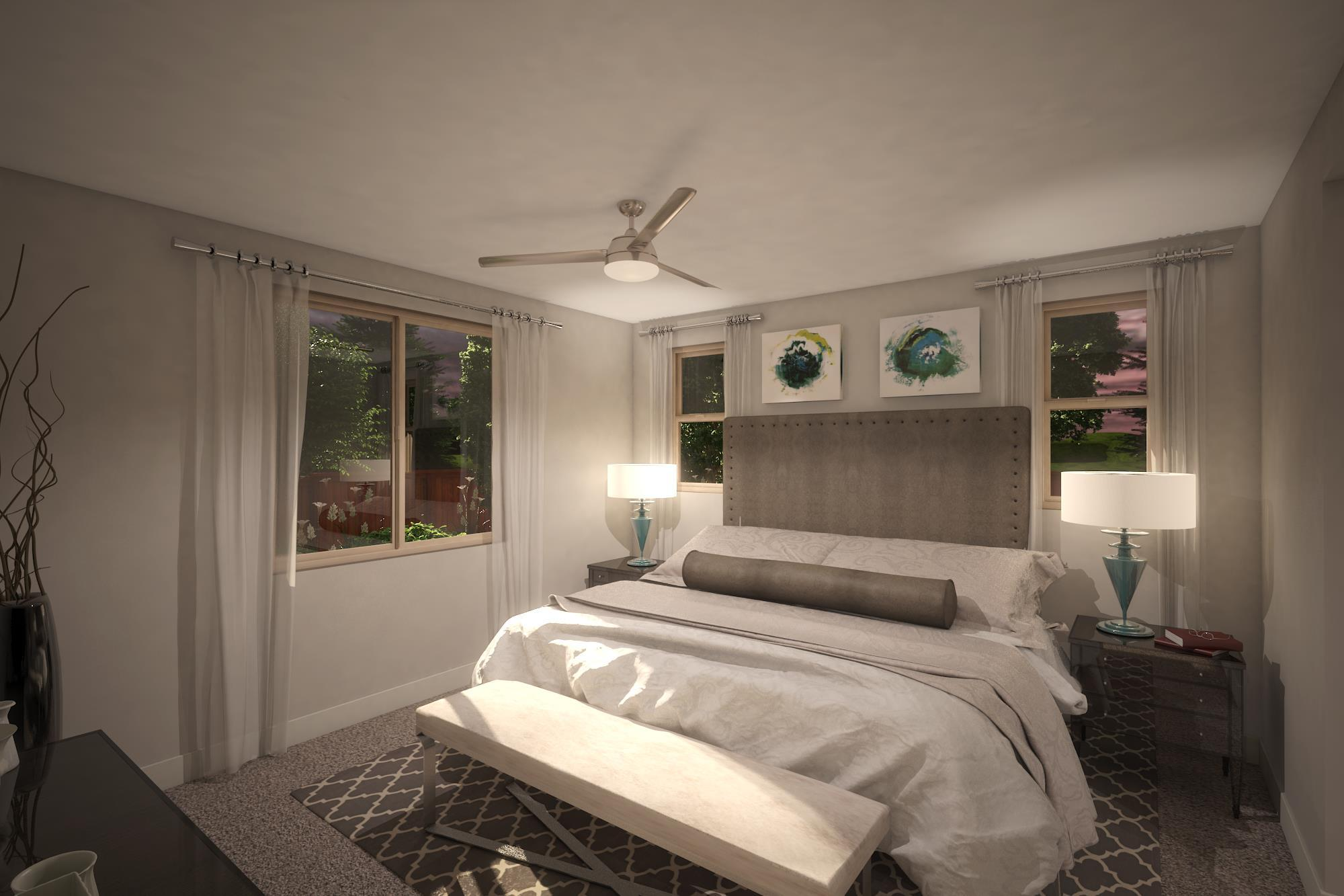 Bedroom featured in the Plan 3- 1739 By Jenuane Communities in Reno, NV