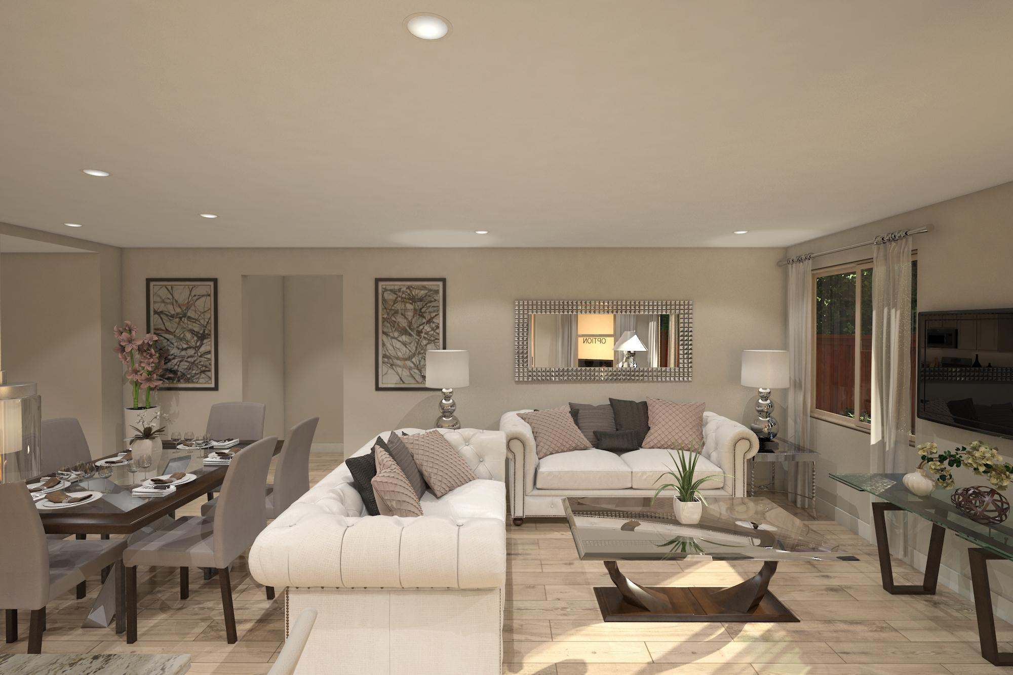 Living Area featured in the Plan 7- 3035 By Jenuane Communities in Reno, NV