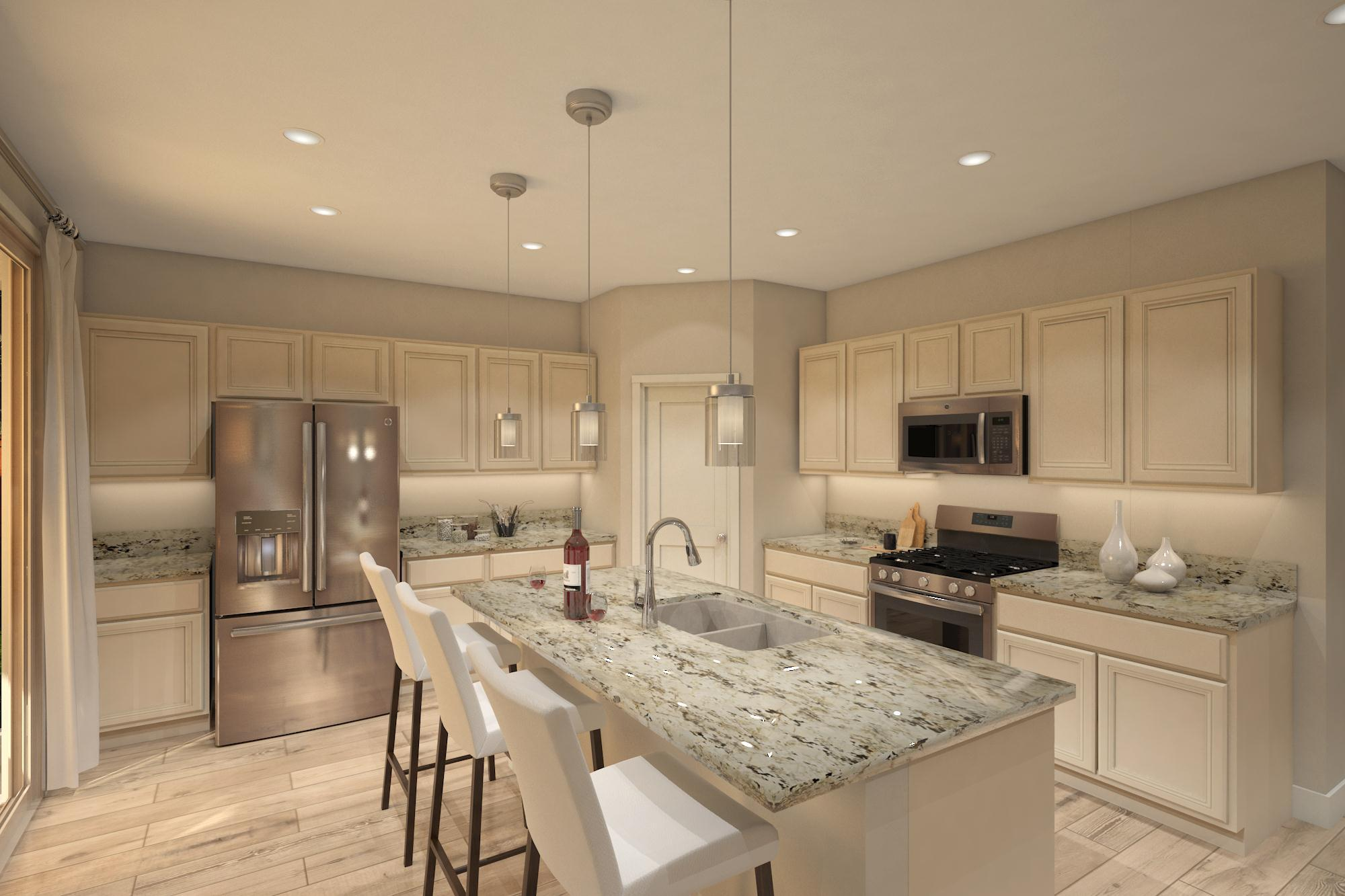 Kitchen featured in the Plan 7- 3035 By Jenuane Communities in Reno, NV