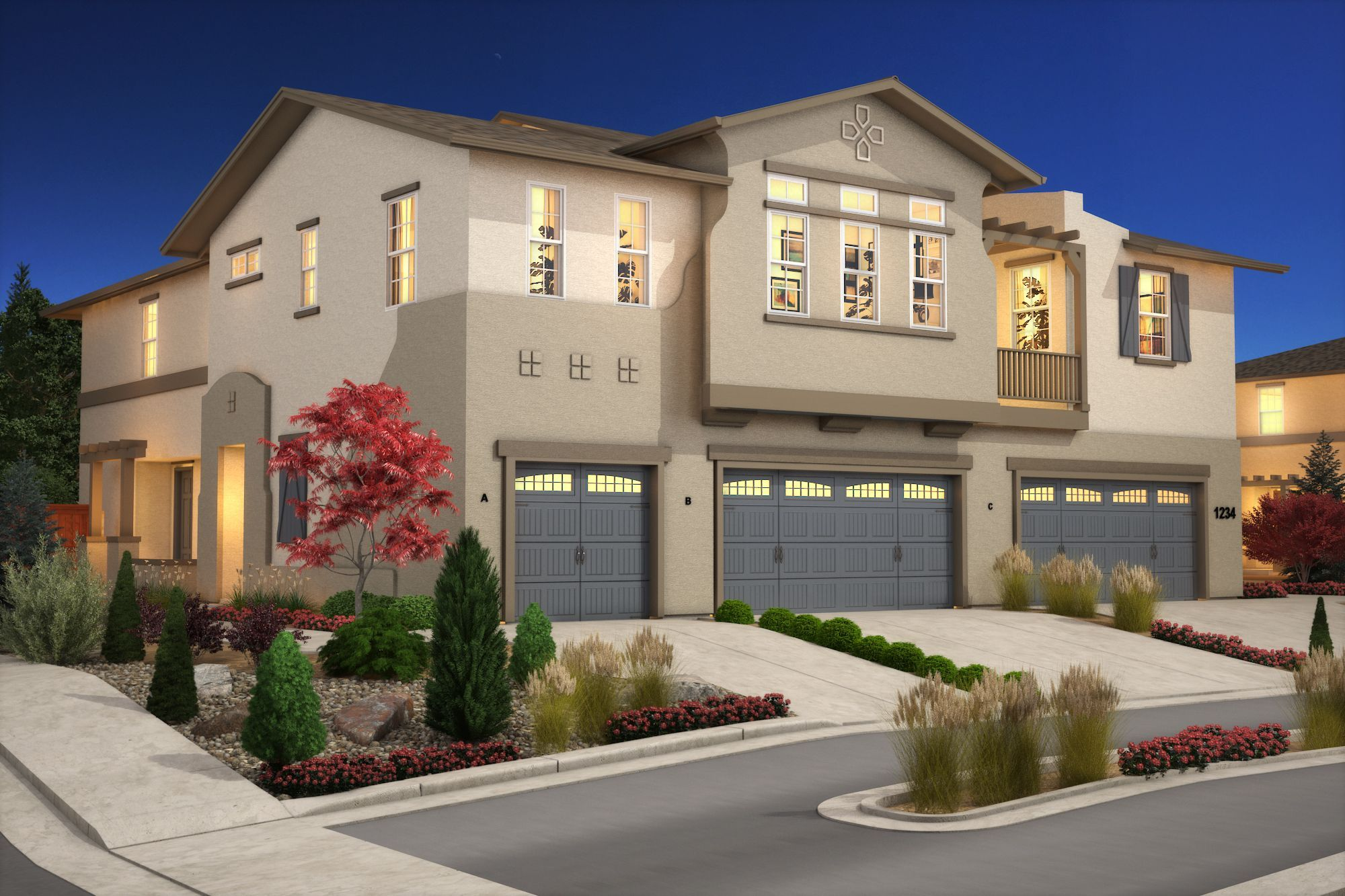 Exterior featured in the Plan B - 1654 By Jenuane Communities in Reno, NV
