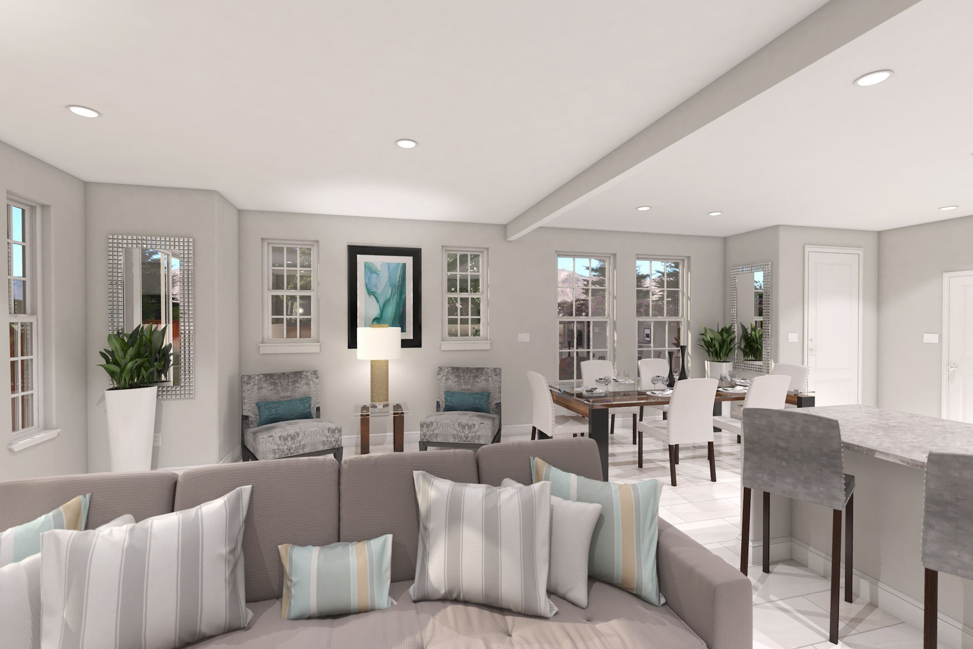 Living Area featured in the Plan C - 1831 By Jenuane Communities in Reno, NV