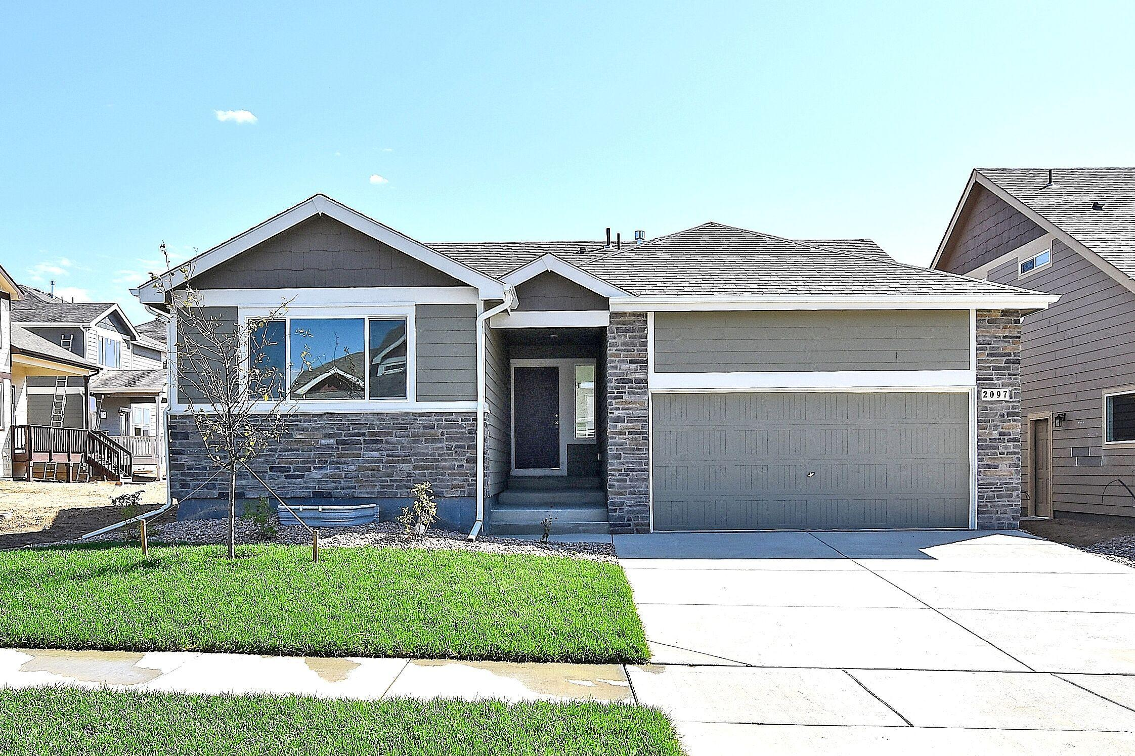 Exterior featured in the Delaware By Journey Homes in Greeley, CO