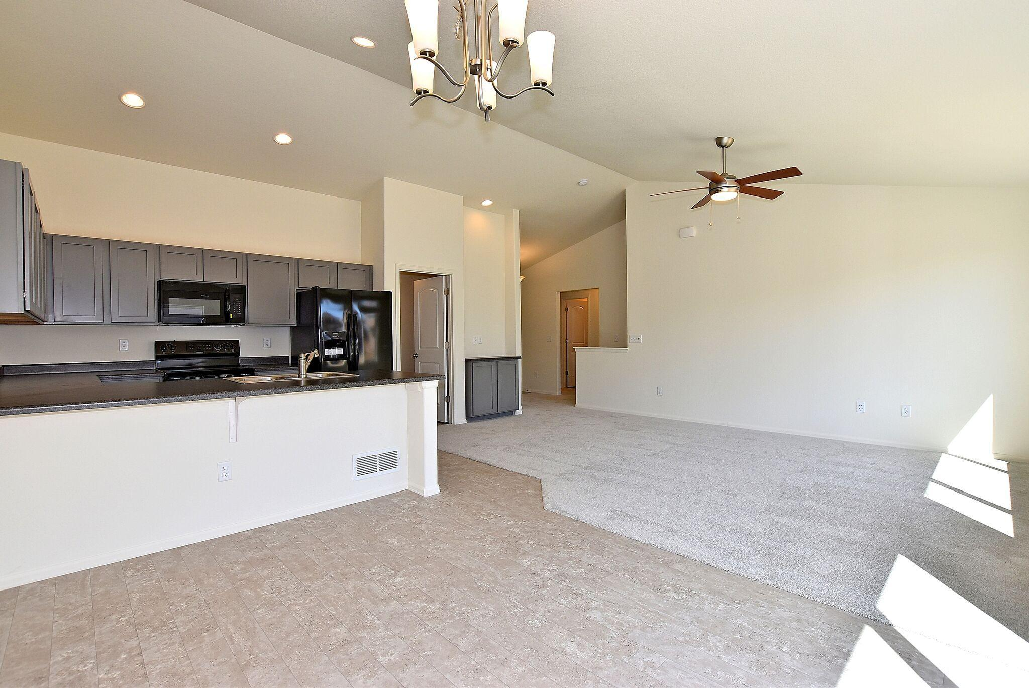 Kitchen featured in the Delaware By Journey Homes in Greeley, CO