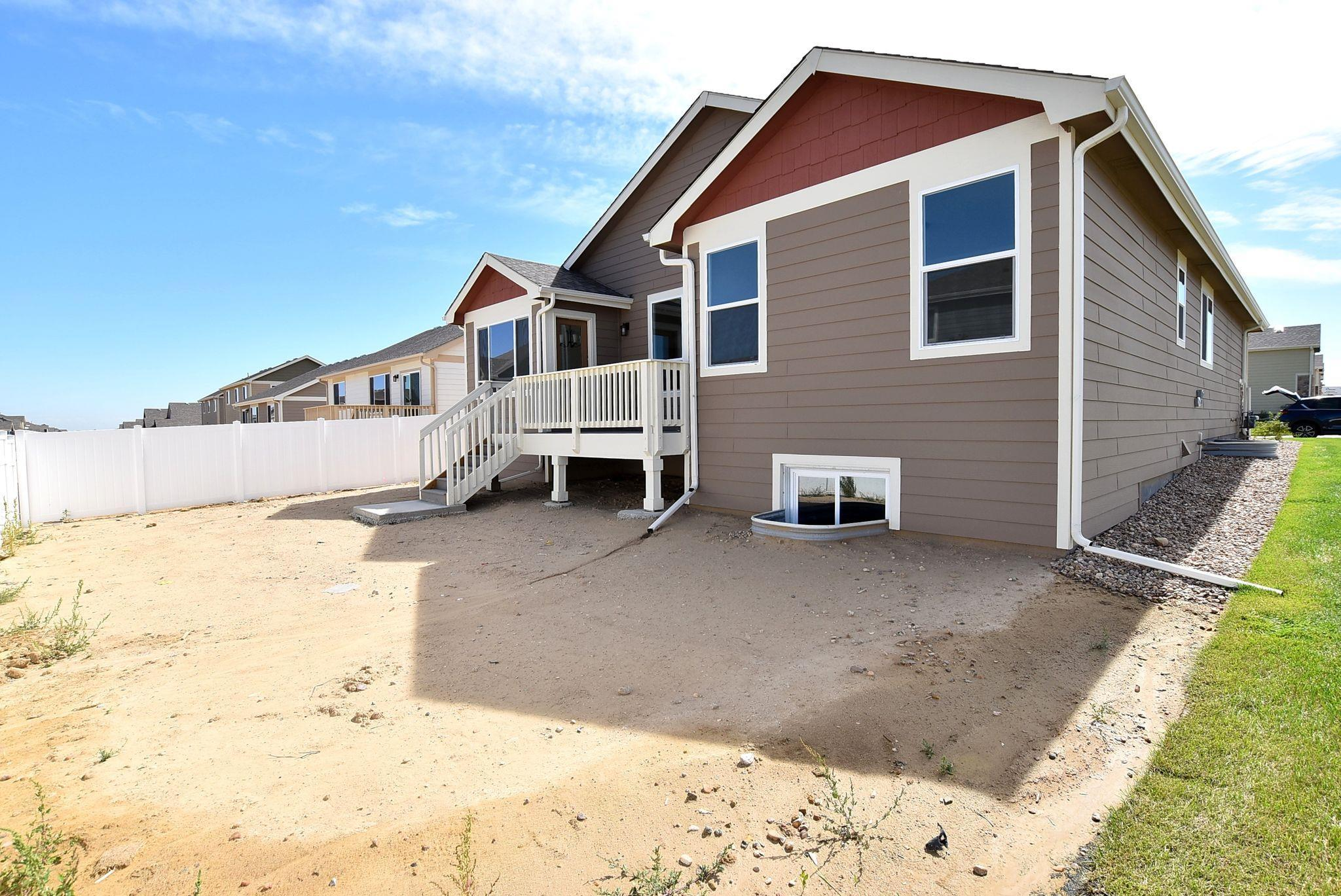 Exterior featured in the Arizona By Journey Homes in Greeley, CO