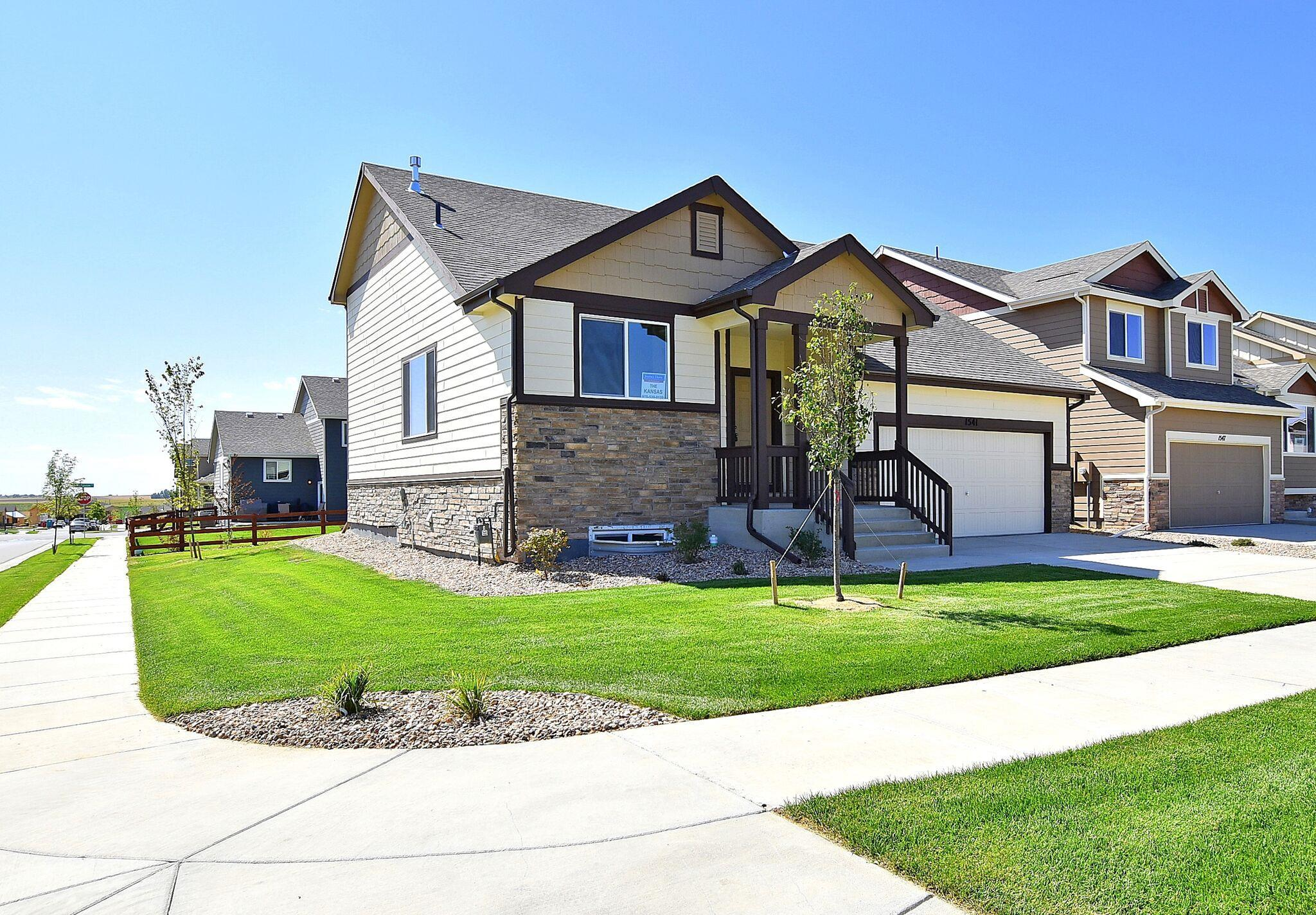 Exterior featured in the Kansas By Journey Homes in Greeley, CO
