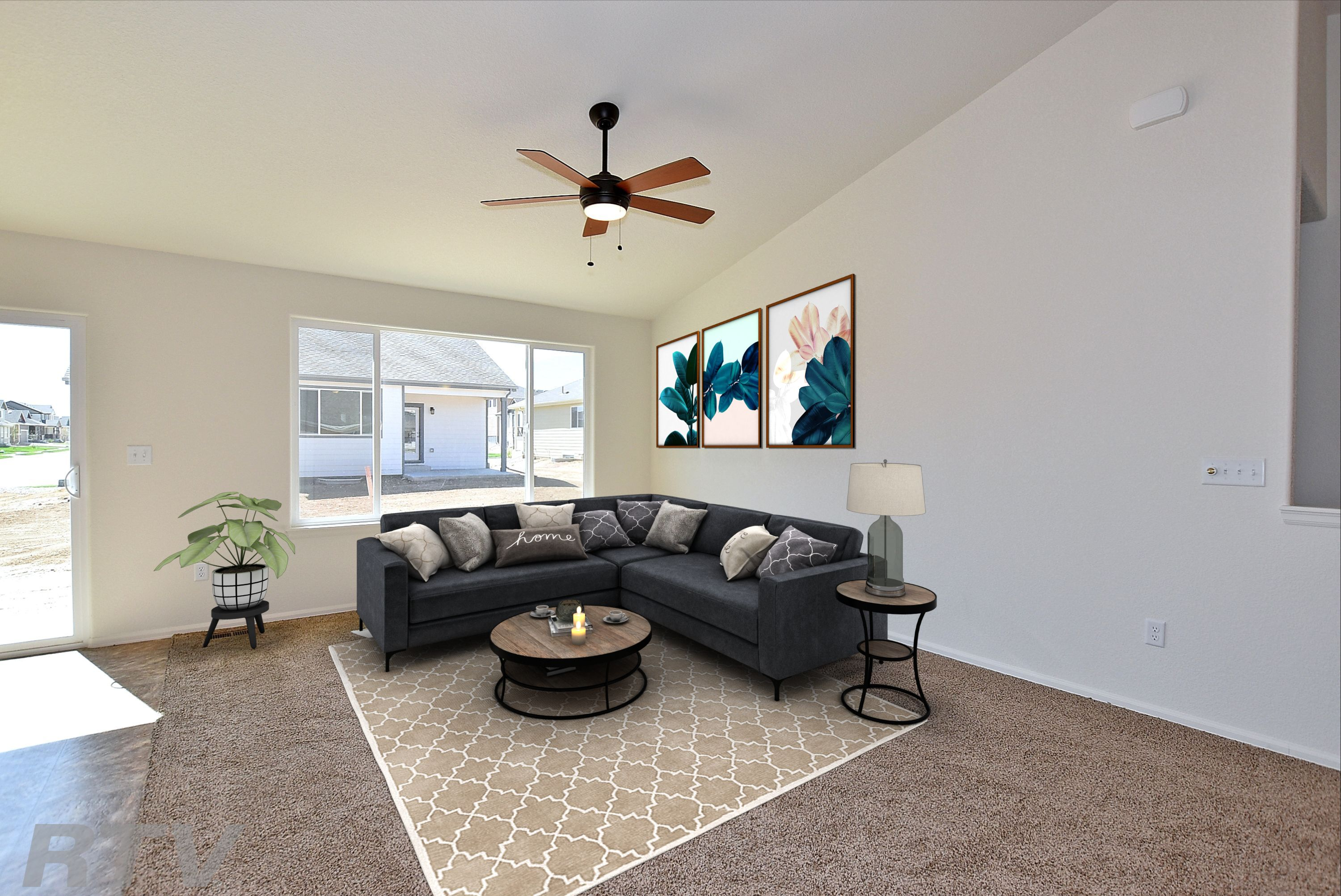Living Area featured in the Alaska By Journey Homes in Greeley, CO