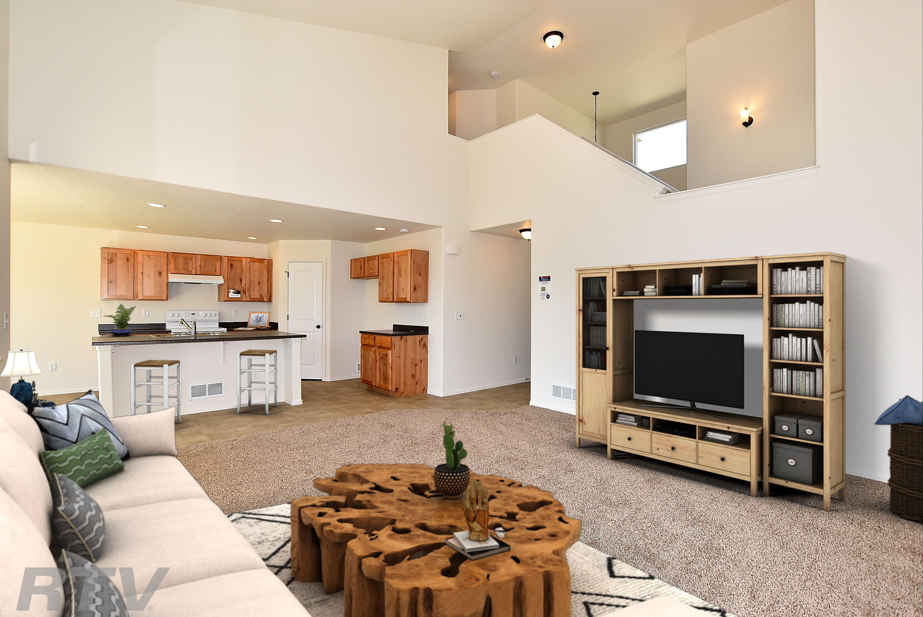 Living Area featured in the New Jersey By Journey Homes in Greeley, CO