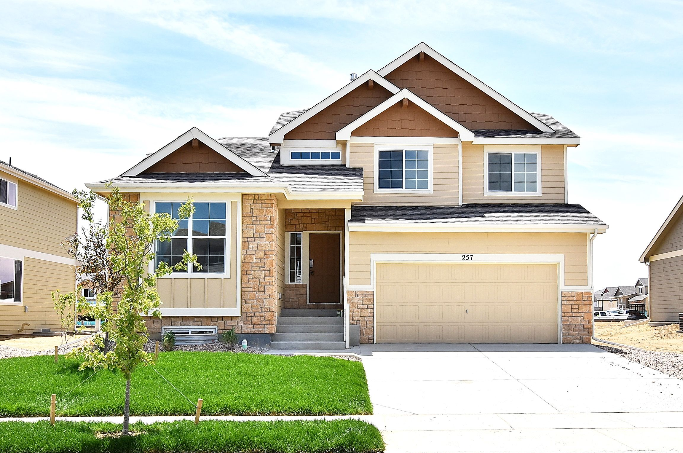 Exterior featured in the Big Horn By Journey Homes in Greeley, CO