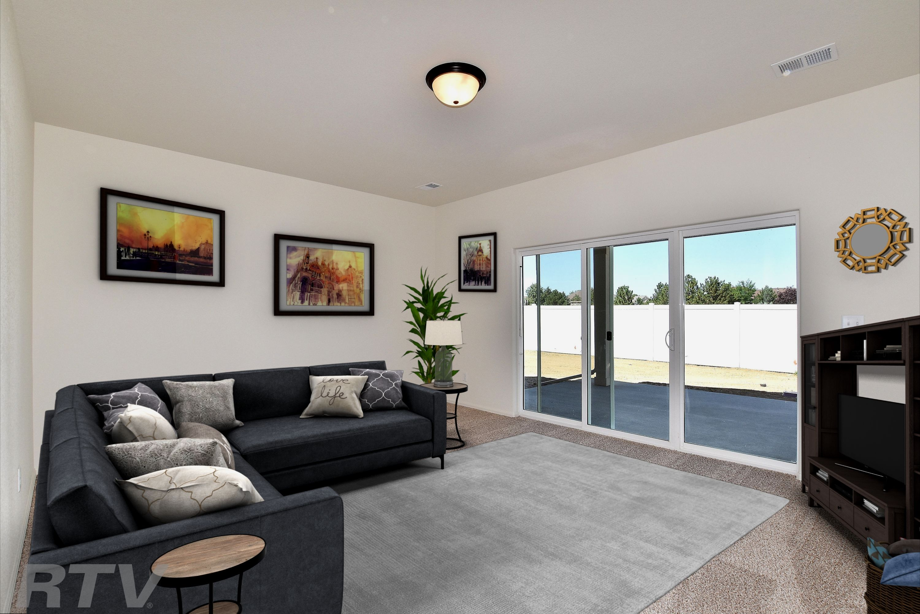 Living Area featured in the California By Journey Homes in Greeley, CO