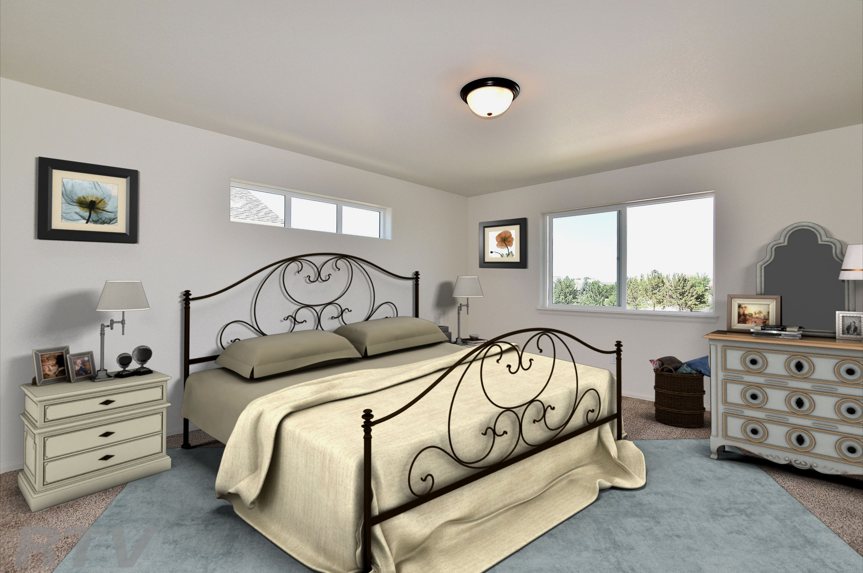 Bedroom featured in the California By Journey Homes in Greeley, CO