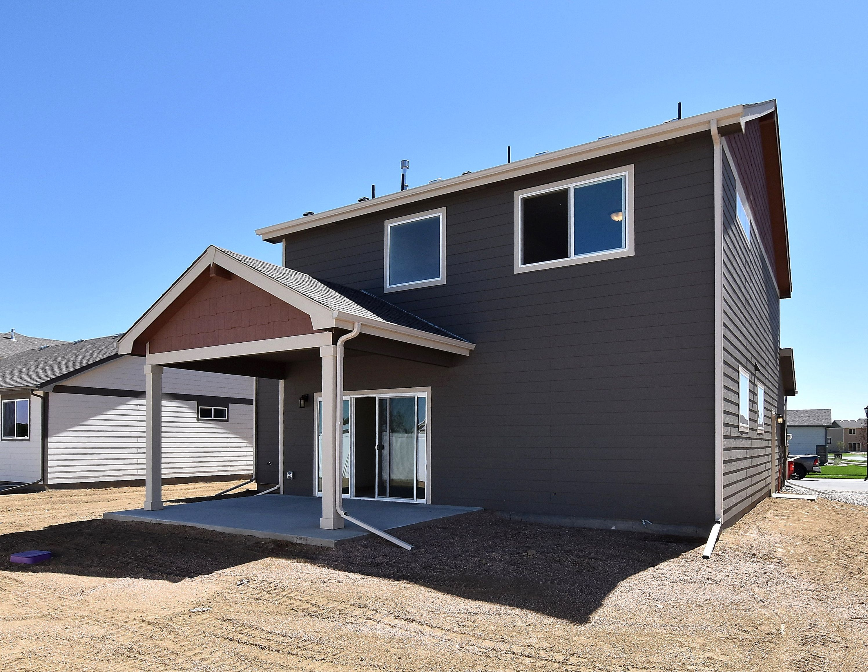 Exterior featured in the California By Journey Homes in Greeley, CO