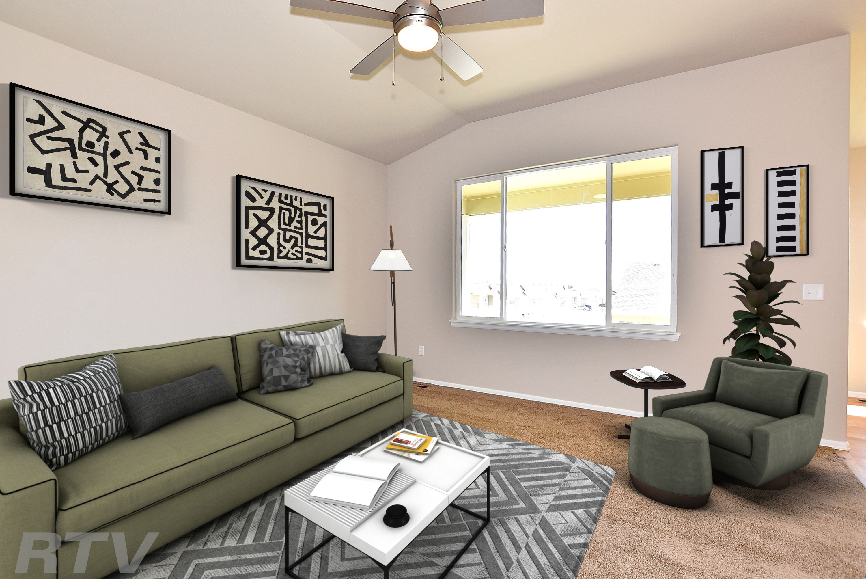 Living Area featured in the Ohio By Journey Homes in Greeley, CO