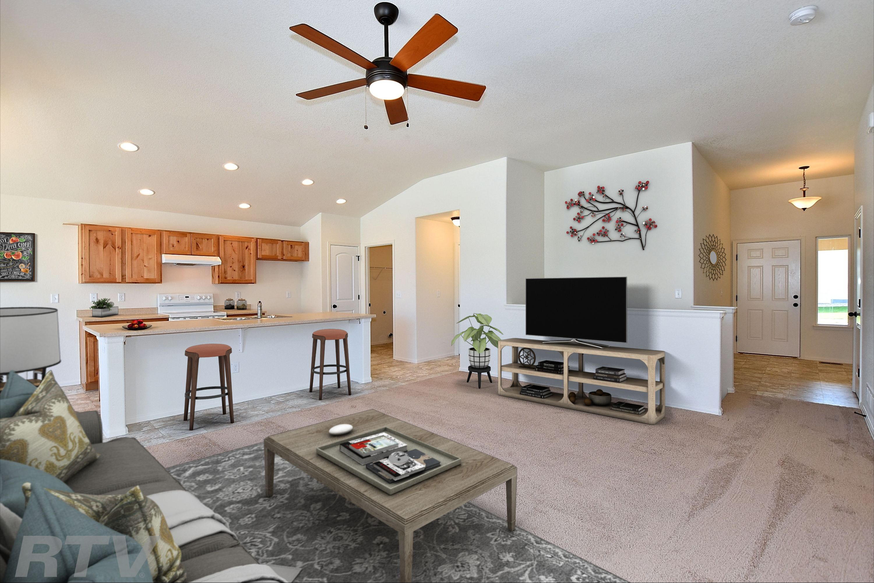 Living Area featured in the Arizona By Journey Homes in Greeley, CO