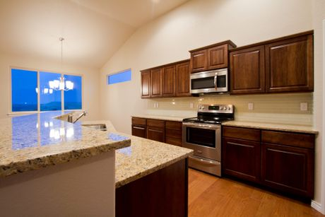 Kitchen-in-Big Horn-Legacy-at-The Overlook at Severance-in-Severance