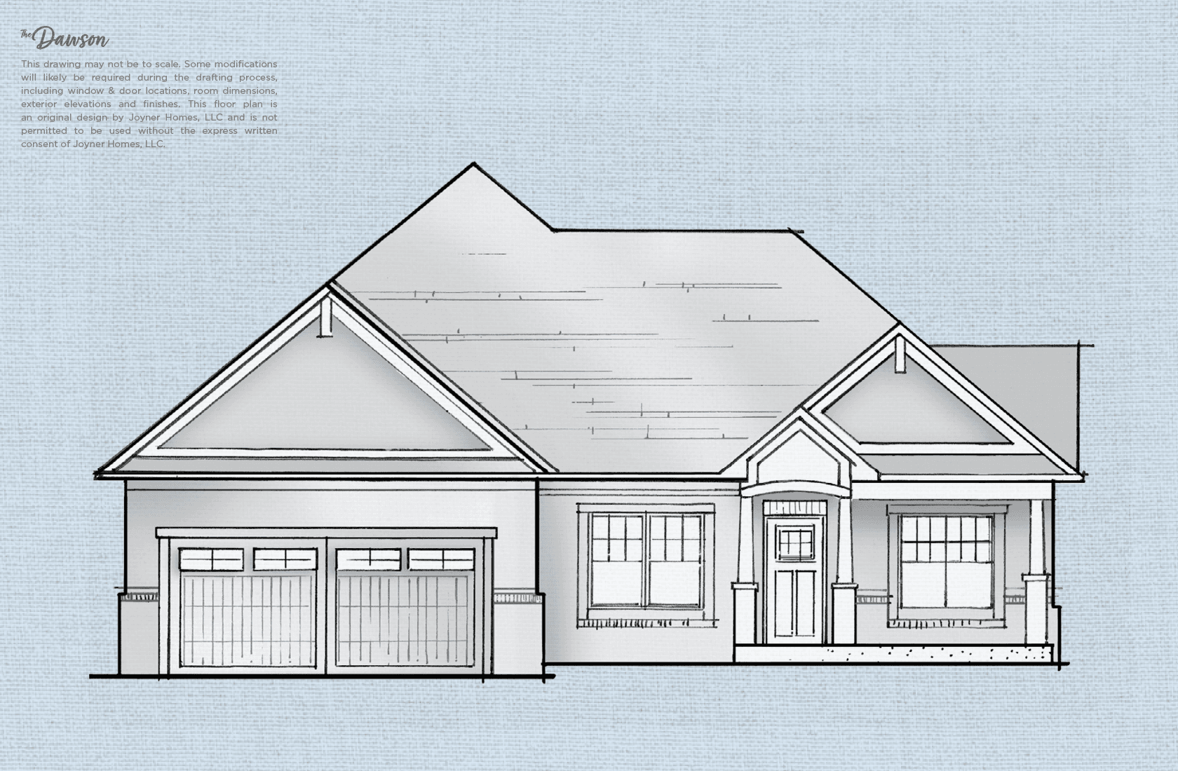 Exterior featured in The Dawson By Joyner Homes in Indianapolis, IN