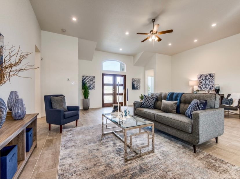 Living Area featured in The Clifton By JuEll Homes in San Antonio, TX