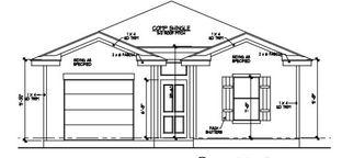 1205 Plan - Martindale Heights: Seguin, Texas - NAV Homes