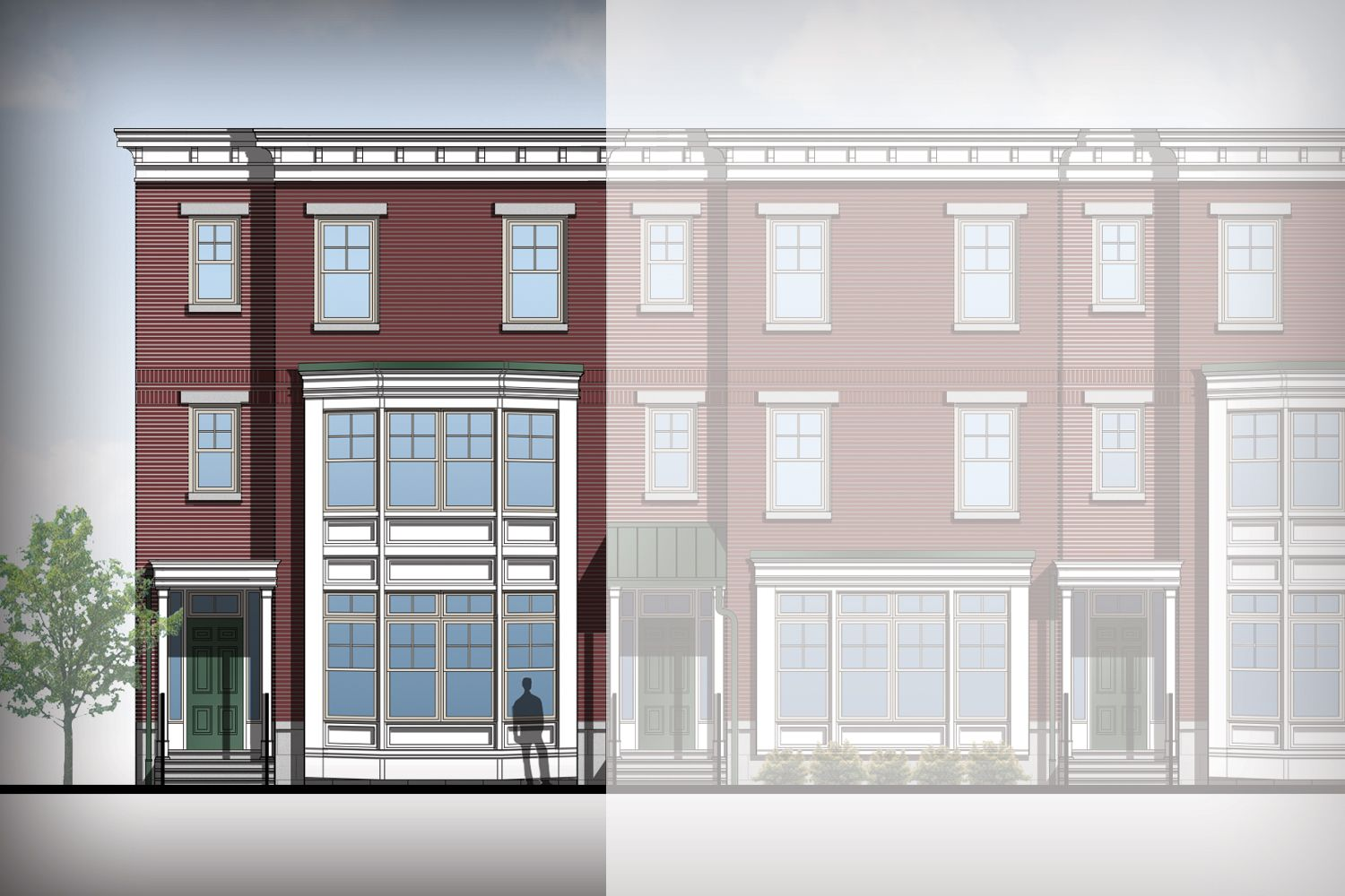Exterior featured in the Gianna By Judd Builders and Developers in Philadelphia, PA