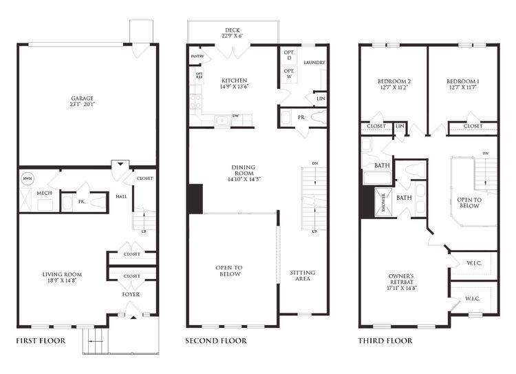 The Elena Floor Plan