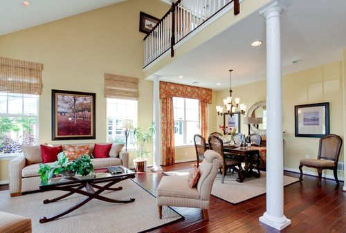 Greatroom-and-Dining-in-The Chatham-at-Meadow View Farms-in-Oley