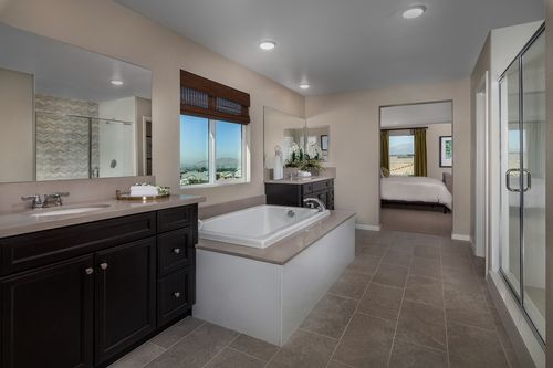 Bathroom-in-Residence Six Modeled-at-Capistrano at Spring Mountain Ranch-in-Riverside