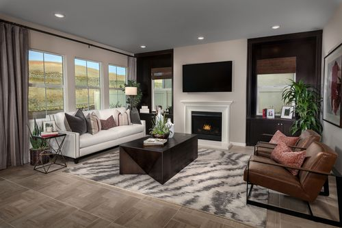 Greatroom-in-Residence Two Modeled-at-Caraway at Terramor-in-Corona