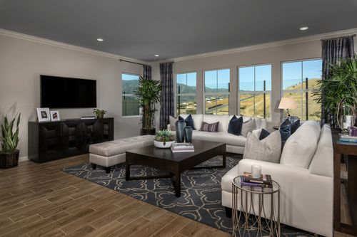 Greatroom-in-Residence Six Modeled-at-Caraway at Terramor-in-Corona