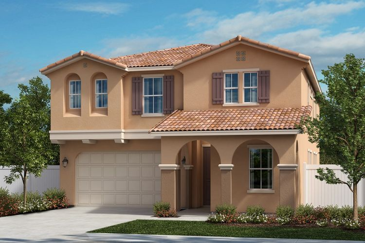 Exterior featured in the Residence 2886 Modeled By KB Home in Riverside-San Bernardino, CA