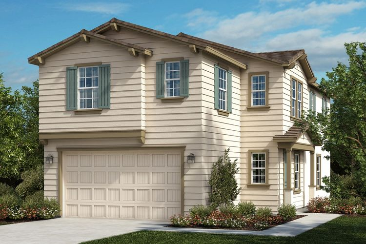 Exterior featured in the Residence 2021 By KB Home in Riverside-San Bernardino, CA
