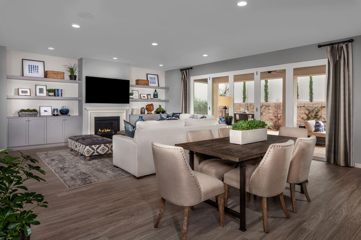 Greatroom-and-Dining-in-Residence 2329 Modeled-at-Camberly Place-in-Winchester