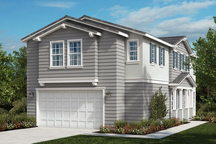 Exterior featured in the Residence 2174 By KB Home in Riverside-San Bernardino, CA
