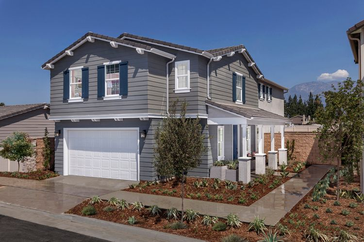 Exterior featured in the Residence 2256 Modeled By KB Home in Riverside-San Bernardino, CA