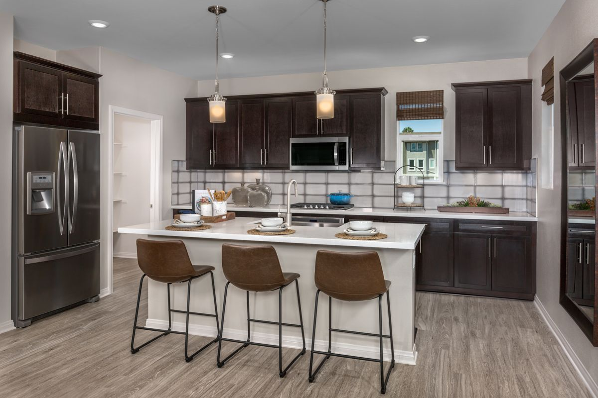 Kitchen-in-Residence 3 Modeled-at-Brighton-in-Van Nuys